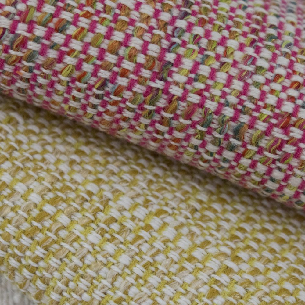 Friendly Indoor Outdoor Performance Textile | Red Tweed Inside Out Performance Fabric Bleach Cleanable