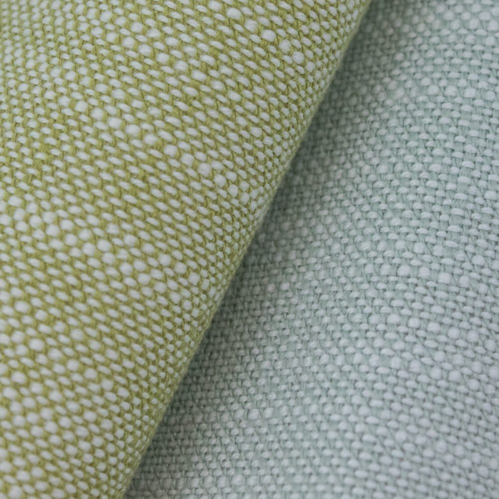 Rollo Indoor Outdoor Performance Textile | Green Texture Inside Out Performance Fabric Bleach Cleanable