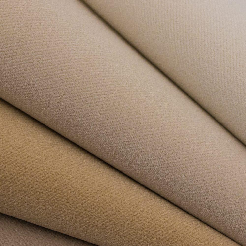 Sundance Indoor Outdoor Performance Textile | Beige Velvet Inside Out Performance Fabric Bleach Cleanable