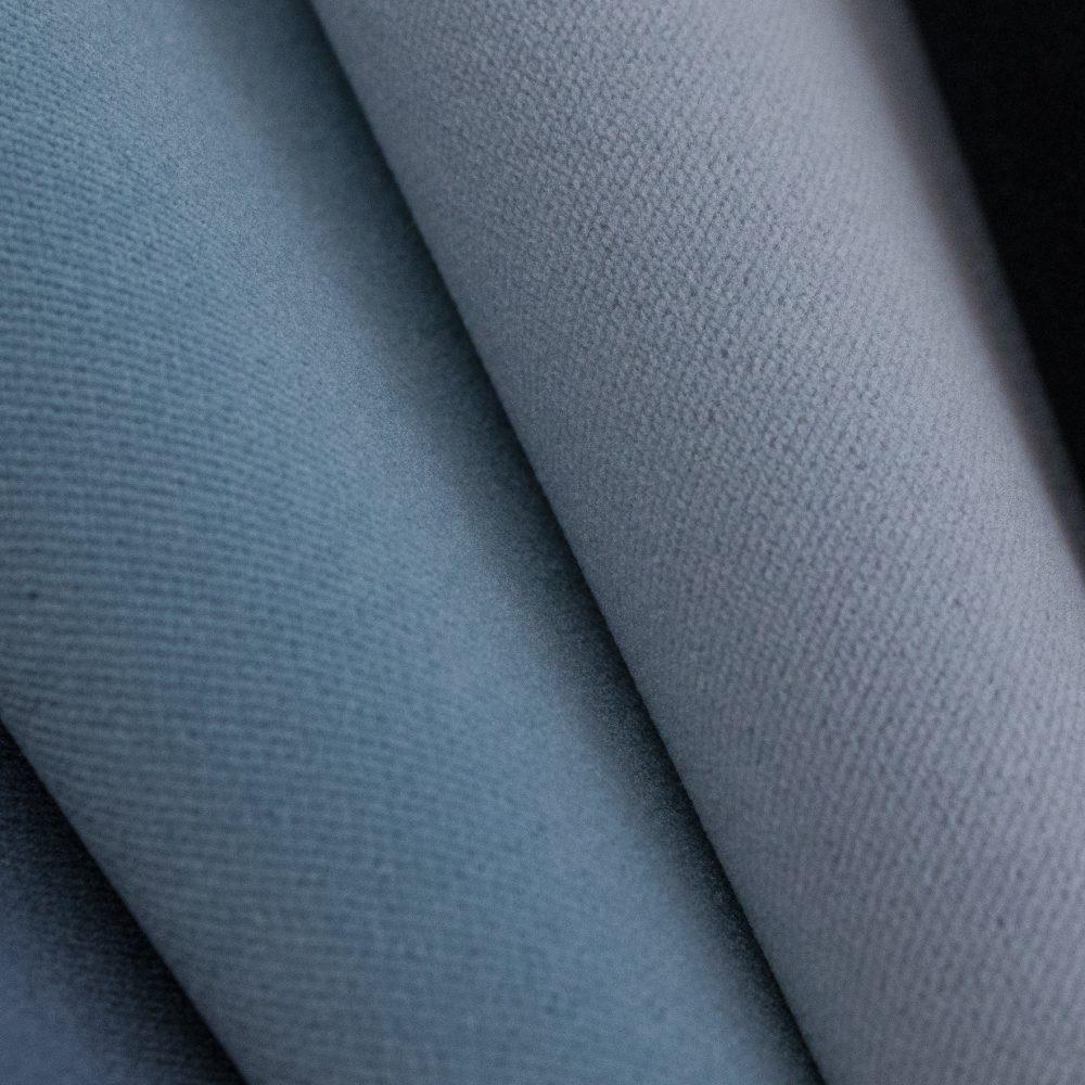 Sundance Indoor Outdoor Performance Textile | Blue Velvet Inside Out Performance Fabric Bleach Cleanable
