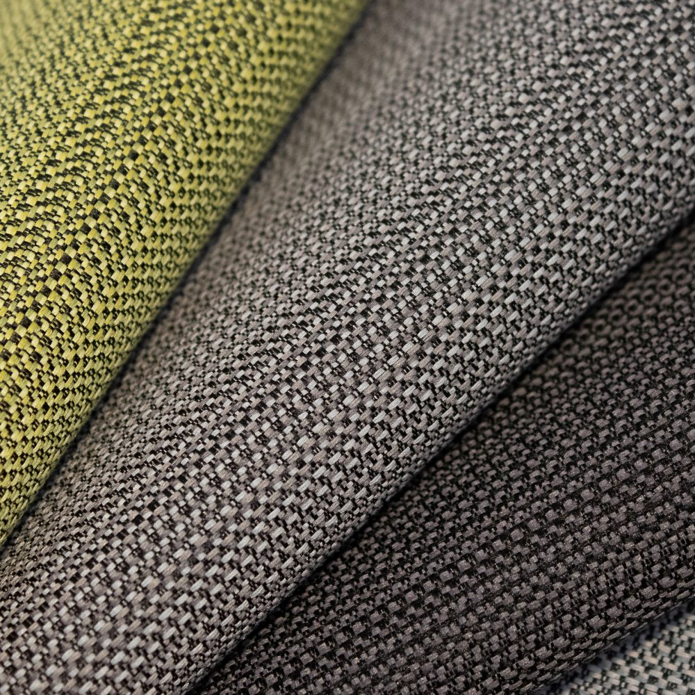 Beam Collection Performance Textile | Lime Texture Made in Canada Bleach Cleanable Recycled Polyester