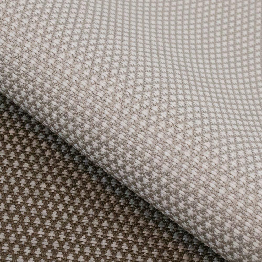 Carr Performance Textile | White Diamond Pattern Fabric Supreen Bleach Cleanable Liquid Barrier