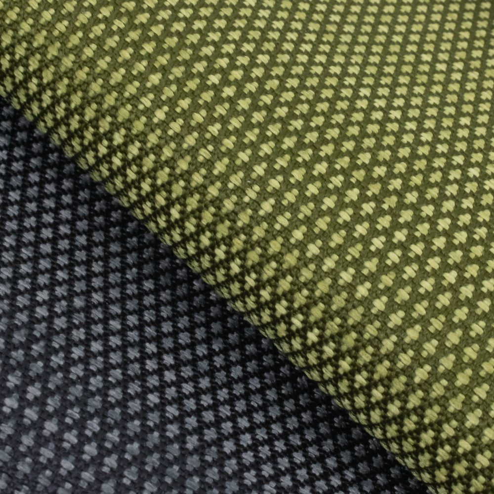 Carr Performance Textile | Green Diamond Pattern Fabric Supreen Bleach Cleanable Liquid Barrier
