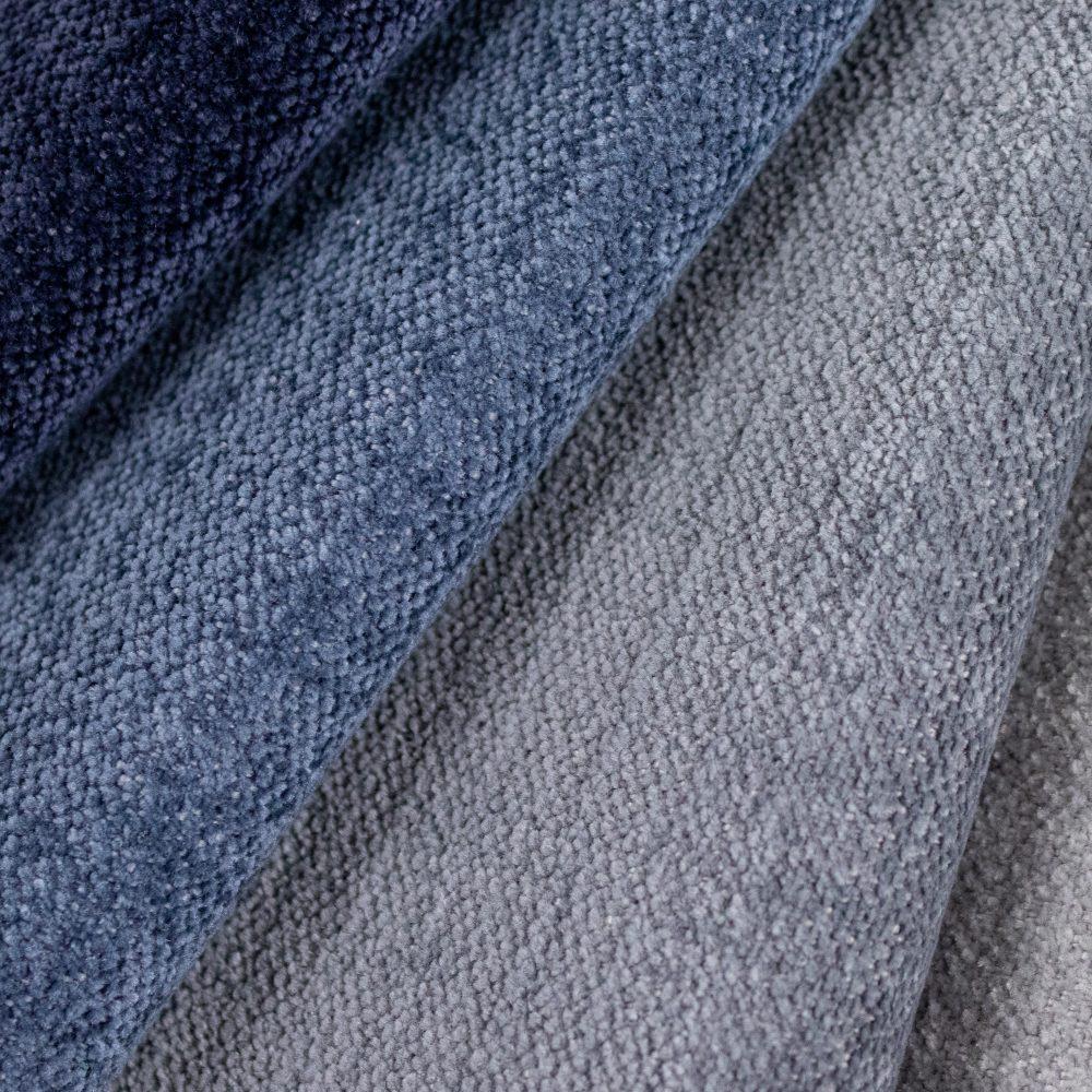 Varley Performance Textile | Blue Chenille Supreen Bleach Cleanable Liquid Barrier
