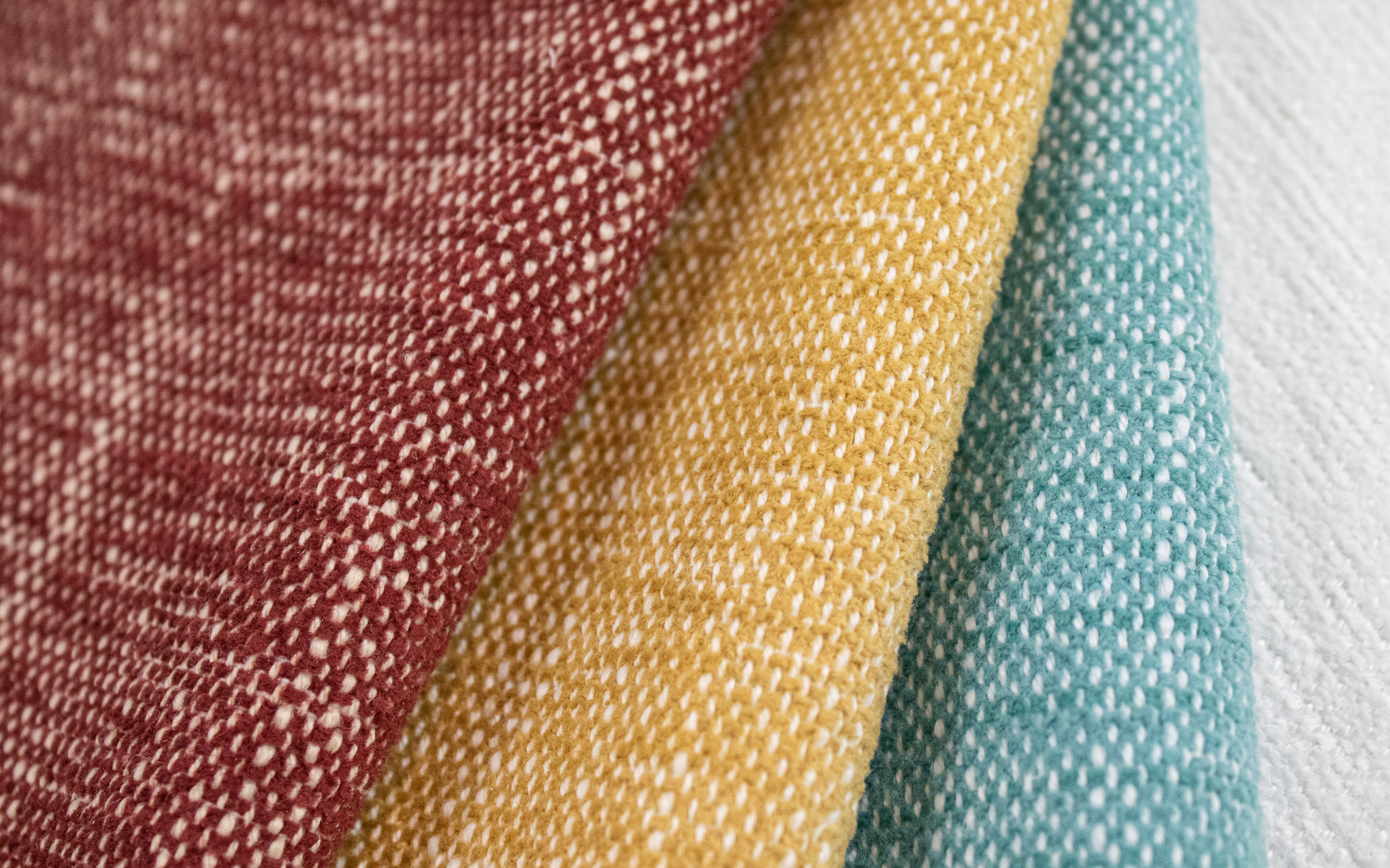 Bahama Indoor Outdoor Performance Textile | Yellow Texture Inside Out Performance Fabric Bleach Cleanable
