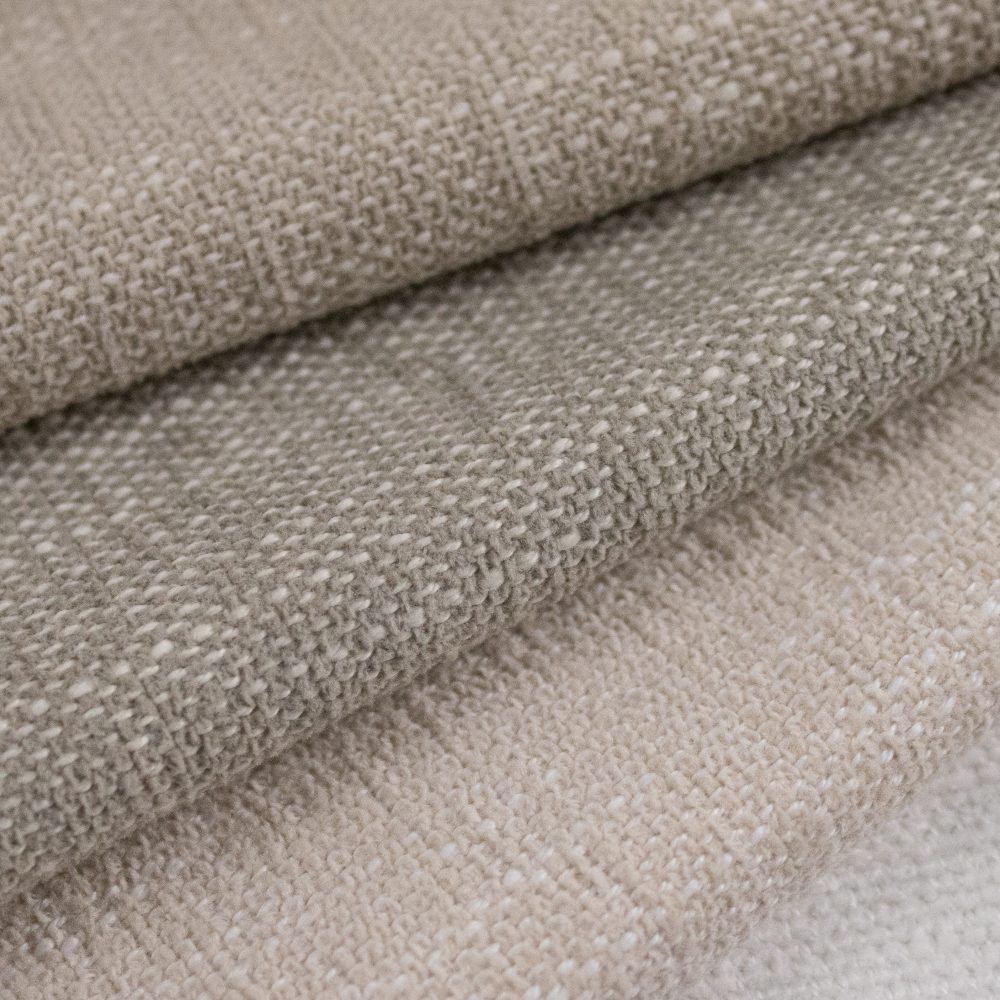Bahama Indoor Outdoor Performance Textile | Grey Texture Inside Out Performance Fabric Bleach Cleanable
