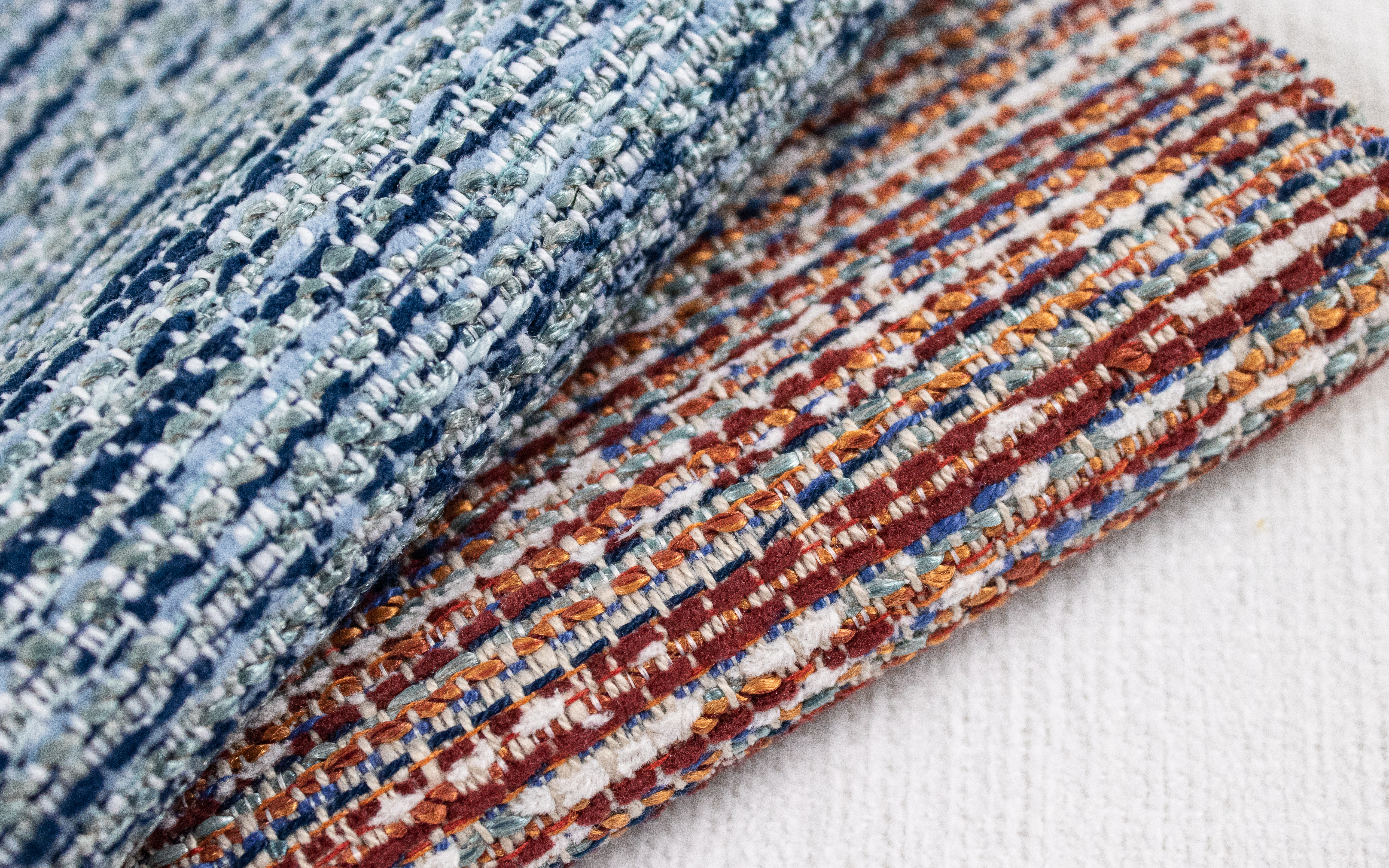Rags Indoor Outdoor Performance Textile | Multi-colour Texture Inside Out Performance Fabric Bleach Cleanable